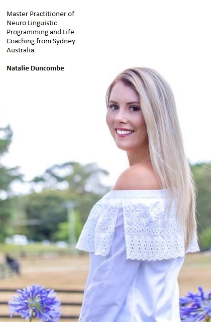 Carry On Harry Talk Show Guest Natalie Duncombe, Master Practitioner of Neuro Linguistic Programming and Life Coaching from Sydney Australia