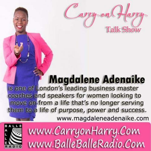 Magdalene Adenaike is a Transformation Expert who coaches women