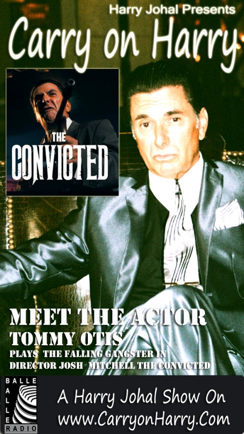Tommy Otis shares his enactment experience in Josh Mitchel Film The Convicted on talk show