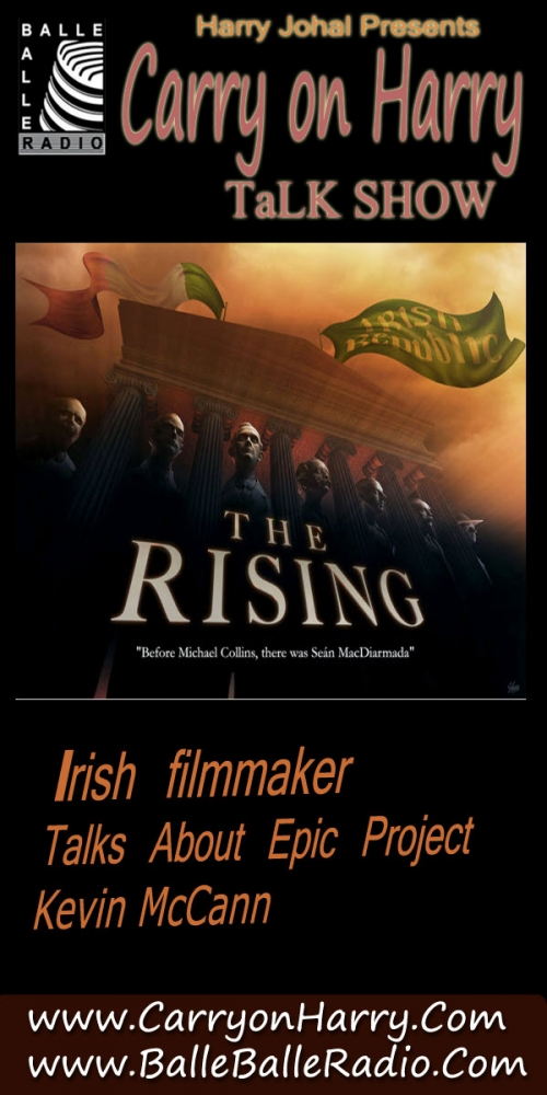 Kevin McCann The Rising to feature Michael Neeson