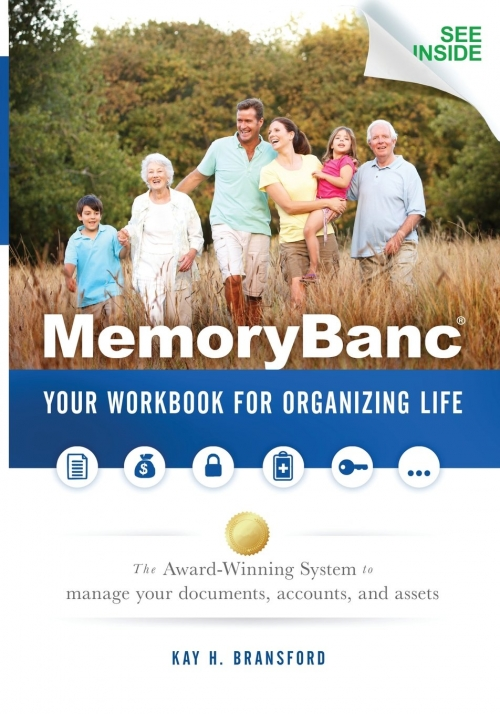 Kay H. Bransford to discuss MemoryBanc: Your Workbook for Organizing Life