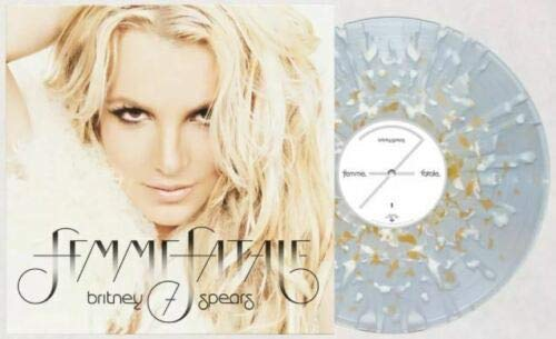 Femme Fatale - Exclusive Limited Edition Clear With Gold White Splatter Colored Vinyl LP