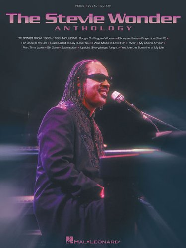 The Stevie Wonder Anthology Piano, Vocal and Guitar Chords