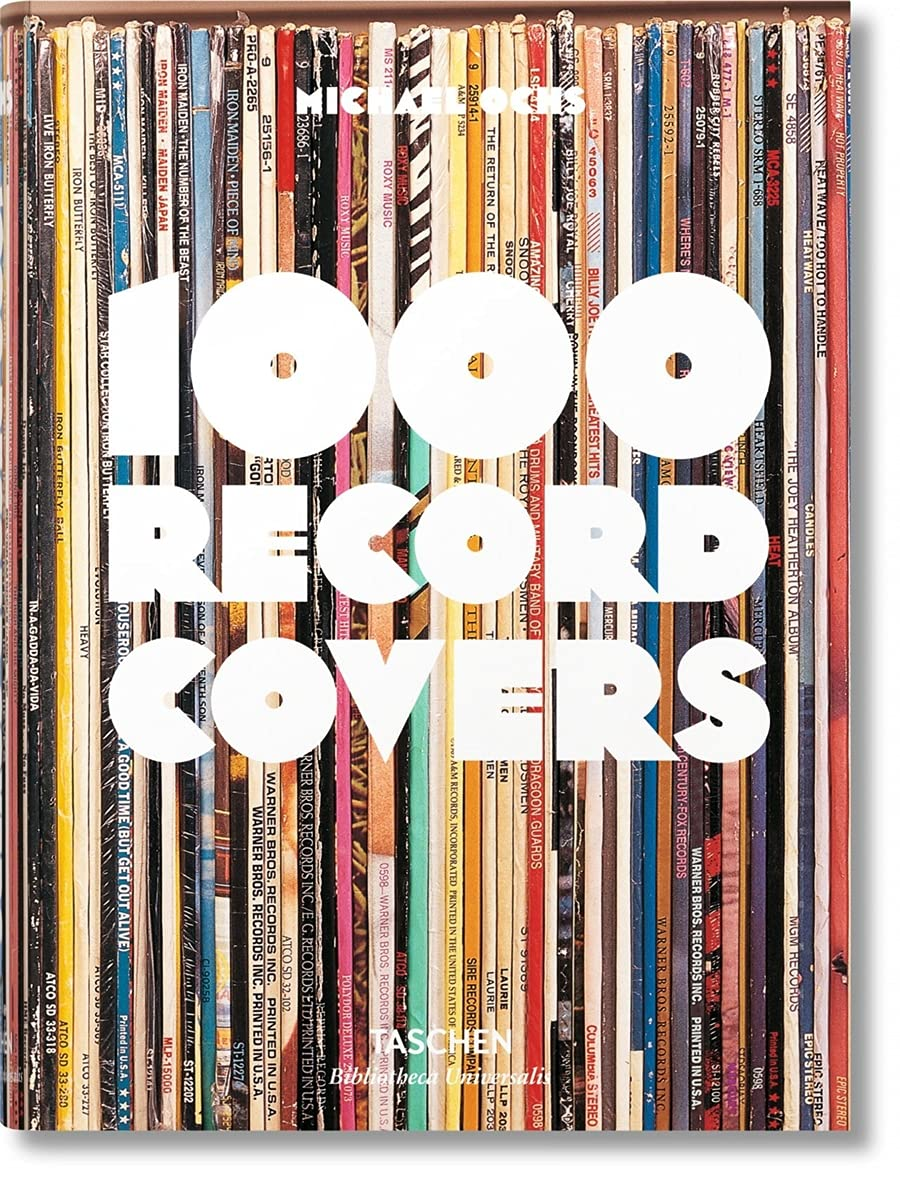 1000 Record Covers (Bibliotheca Universalis)-- (Multilingual, French and German Edition) (English, French and German Edition)