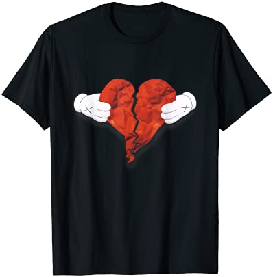 Funny 808s Vintage Heartbreak Cute West Matching Gift T-Shirt