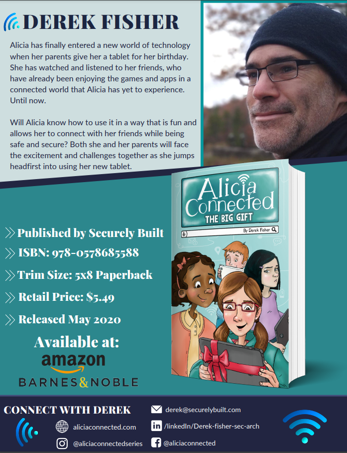 """Securely Built Releases, """"Alicia Connected: The Big Gift,"""" Helping Kids and Parents Safely Navigate Through a Digital World"""
