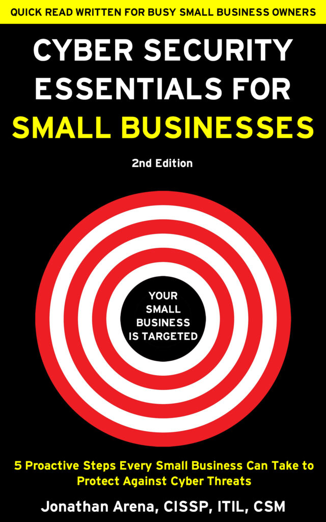 New Book Cyber Security Essentials for Small Businesses