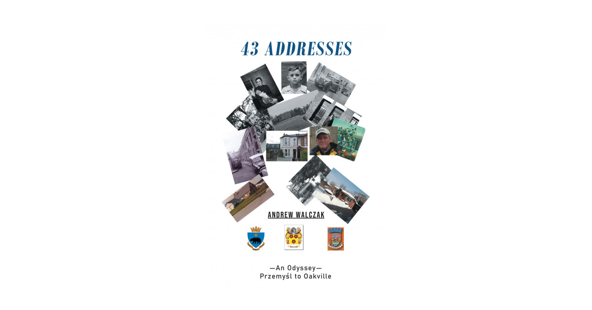 Andrew Walczak's new book, '43 Addresses' is an awe-astonishing journal that explores the colorful and peripatetic odyssey of the author