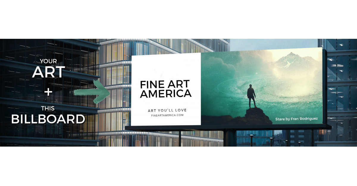 Fine Art America Launches Billboard Contest to Promote Independent Artists